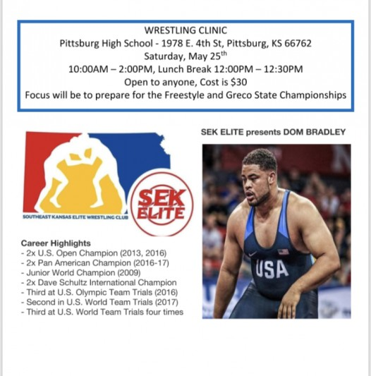 On the Mat w/ DOM BRADLEY – Pittsburg, KS – 05/25