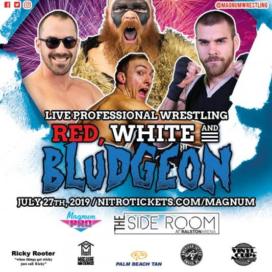 MAGNUM PRO: RED, WHITE & BLUDGEON