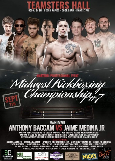 Midwest Kickboxing Championship 7 - 09/07