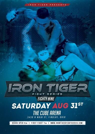 Iron Tiger Fight Series 89 - 08/31
