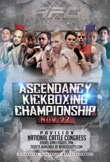 Ascendancy Kickboxing Championship – 11/27