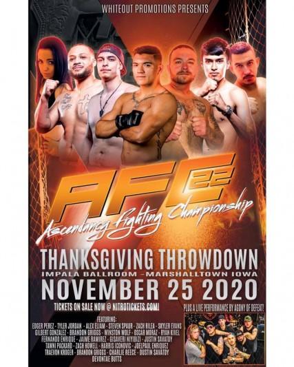 Ascendancy Fighting Championship 23 – 11/25