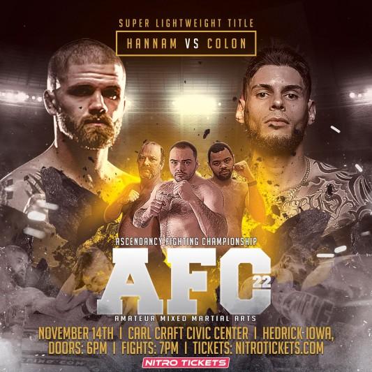 Ascendancy Fighting Championship 22 – 11/14