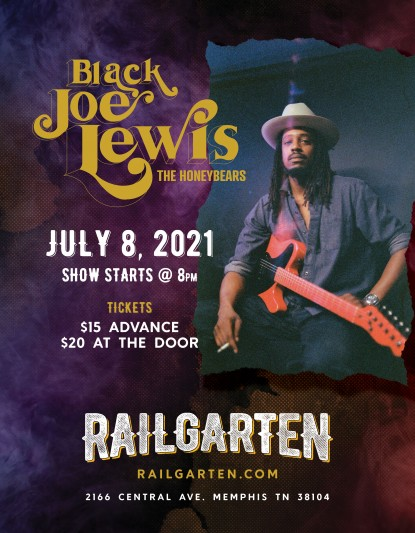 Black Joe Lewis and The Honeybears – 07/08 6PM