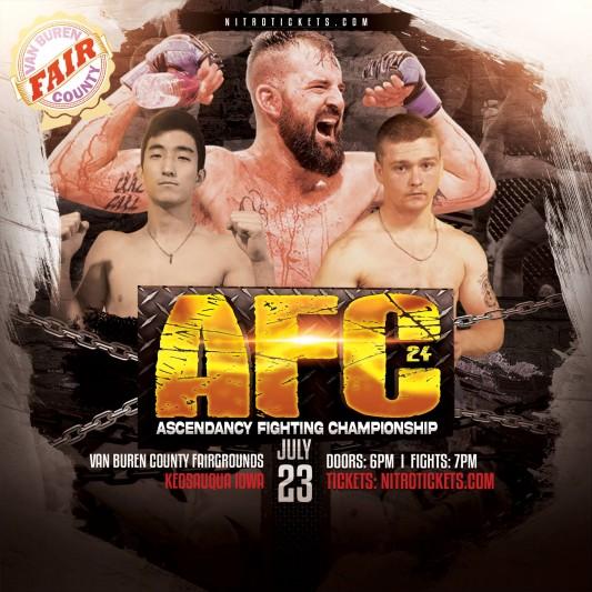 Ascendancy Fighting Championship 24 – 07/23
