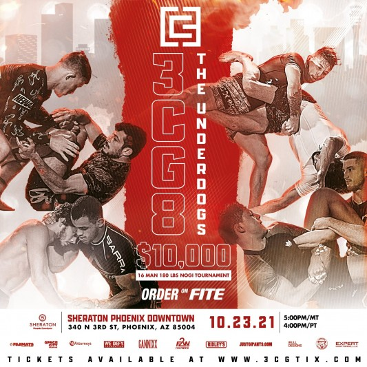 Third Coast Grappling Presents: 3CG 8: The Underdogs