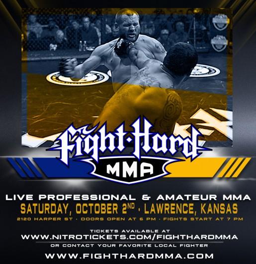 Fight Hard MMA: Lawrence, Kansas  - 10/02