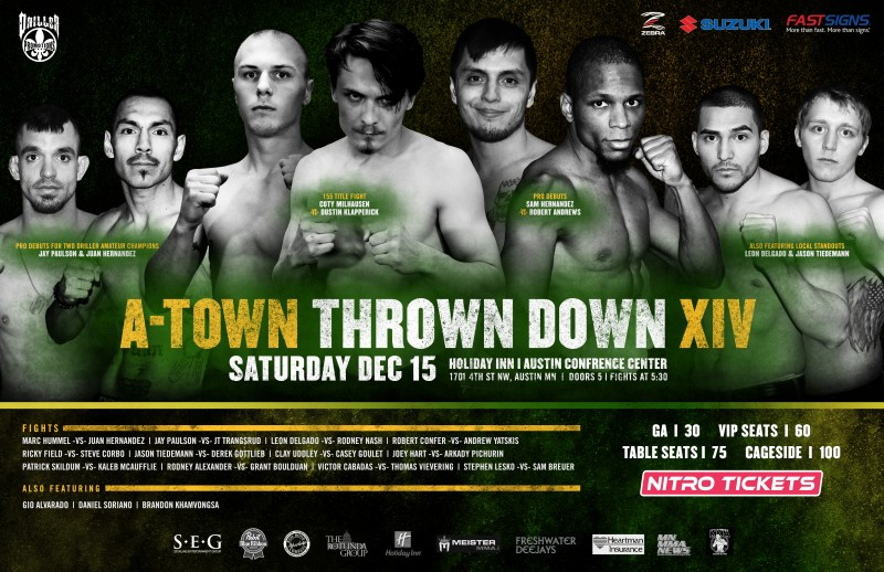 A-Town Throwdown XIV - Austin, MN - 12/15