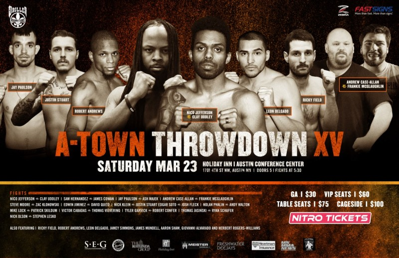 A-Town Throwdown XV – 03/23