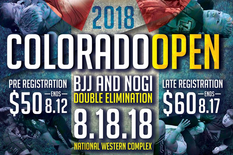2018 F2W Colorado Open - Denver, CO - 08/18