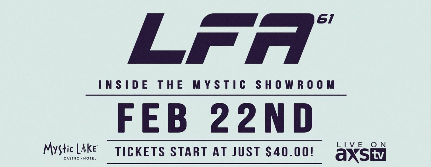 LFA 61: Prior Lake, MN - 02/22