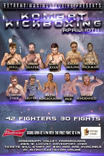 Kombat Kickboxing - 04/10